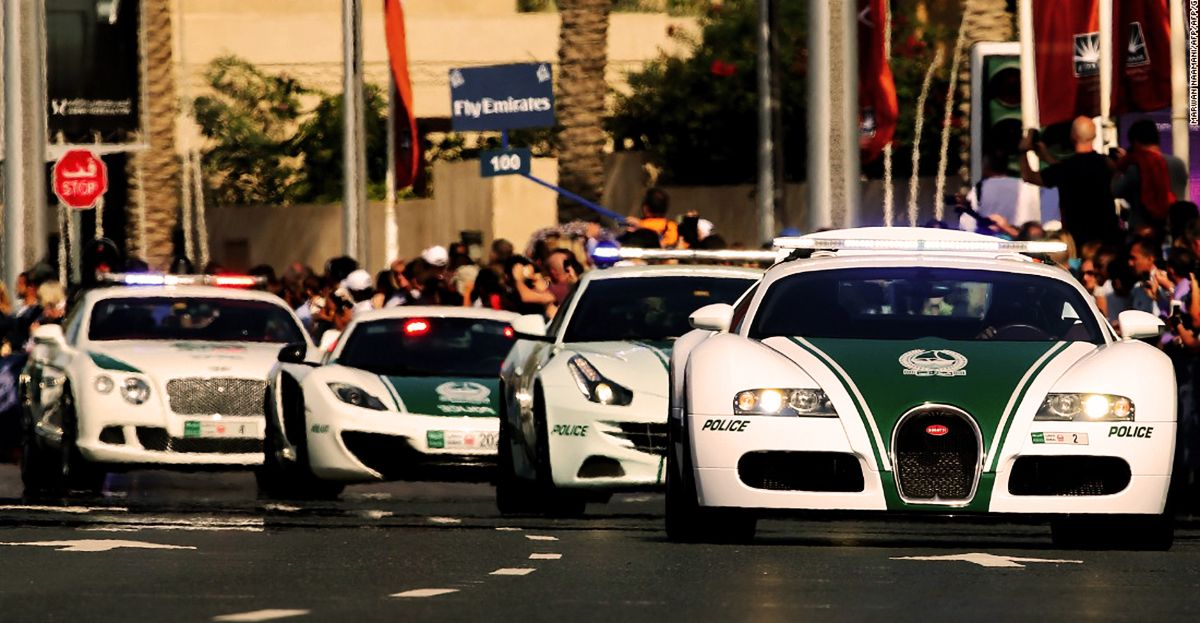 The 25 Fastest Police Cars In The World | HotCars