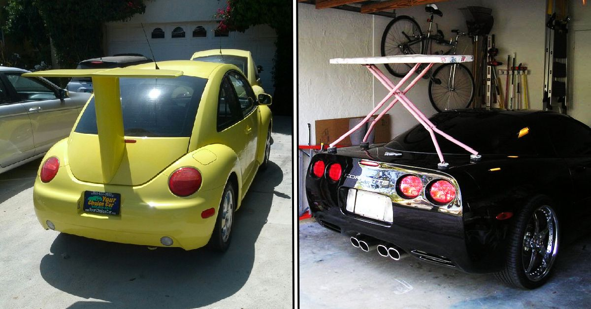 25 People Who Went Too Far With Their Large Spoilers Hotcars