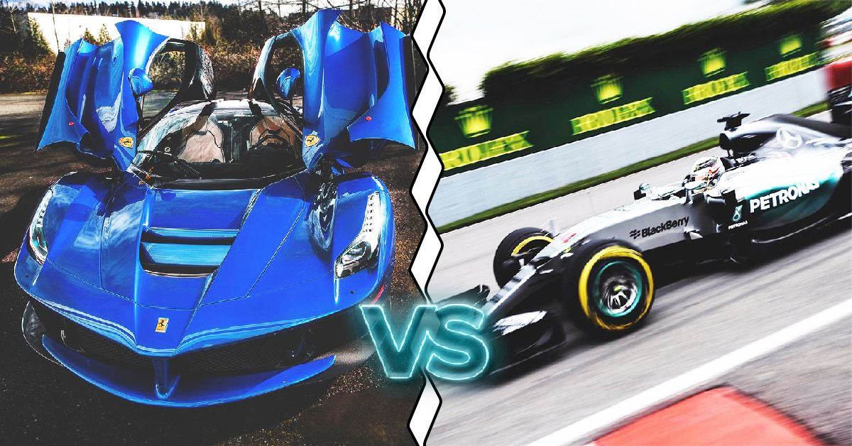 25 Supercars That Are Faster Than An F1 Car | HotCars
