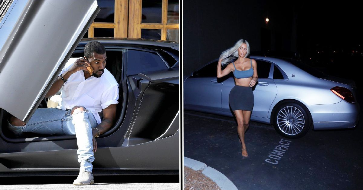 20 Stunning Pics Of Kanye West And Kim Kardashian S Car Collection
