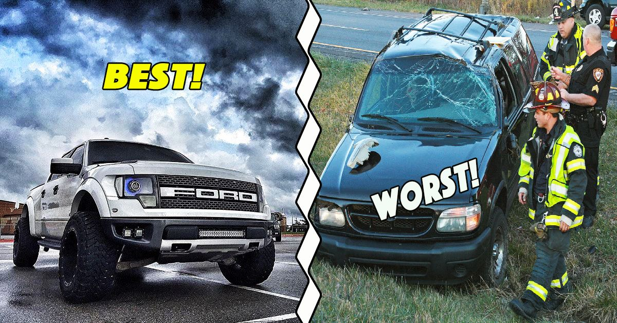 The 10 Worst Ford Cars Ever Built And The 10 Best Hotcars