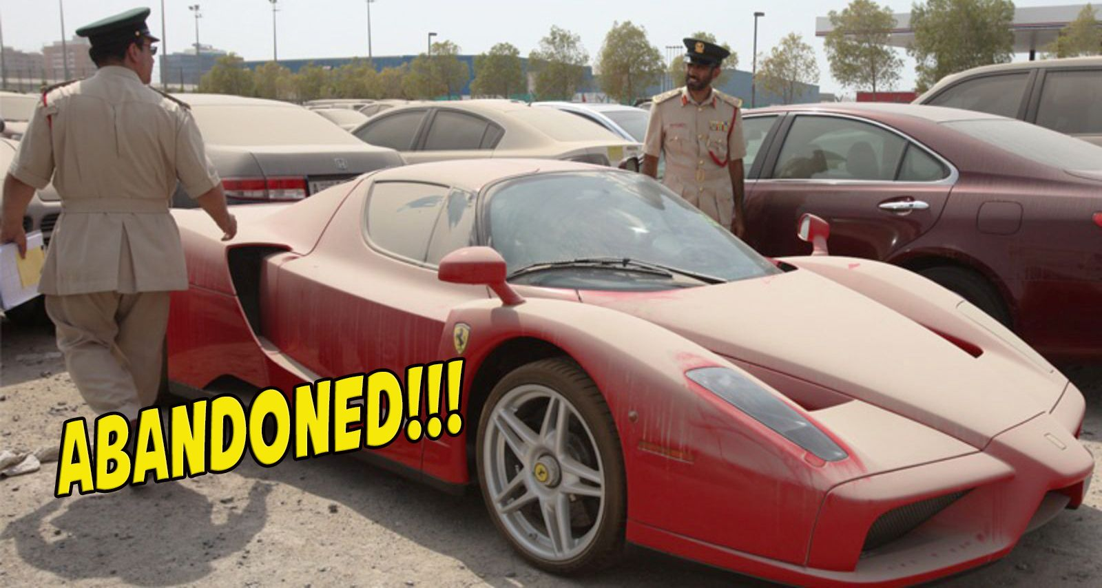 20 Most Expensive Cars That Were Abandoned By Their Owners