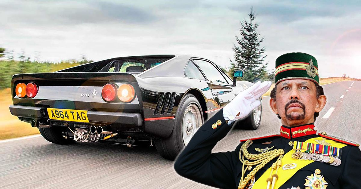 20 Sickest Cars From The Sultan Of Brunei's Collection | HotCars