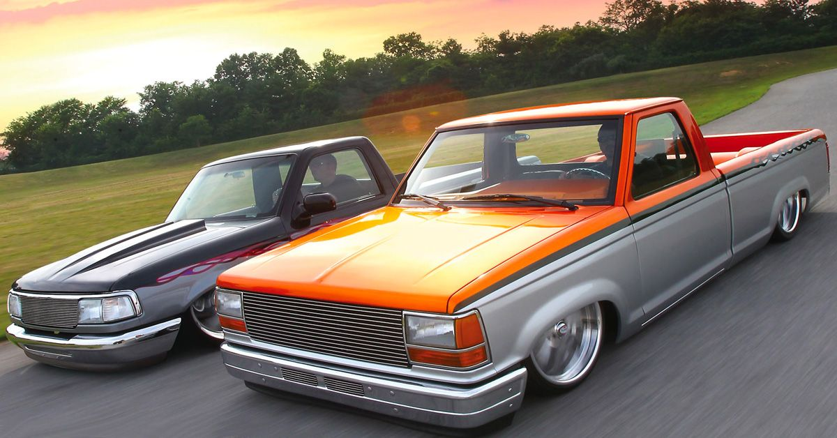 20 Wild Lowrider Pickups From The 90s | HotCars