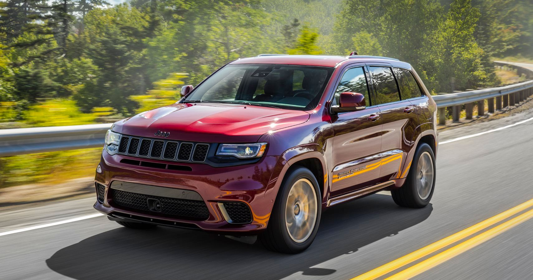 Jeep Grand Cherokee Trackhawk Review The Most Powerful Suv In The World