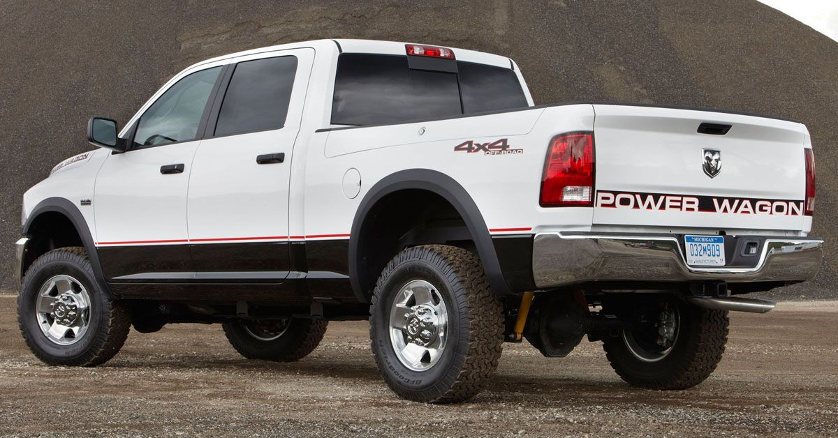 10 Dodge Pickups That Were Built To Crumble After 5 Years