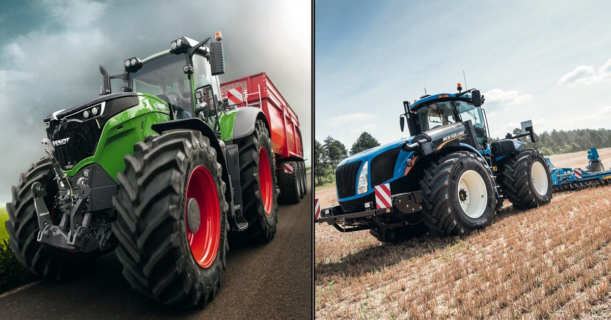 17 Tractors We'd Drive Over A Lamborghini (And 2 That Are Actual