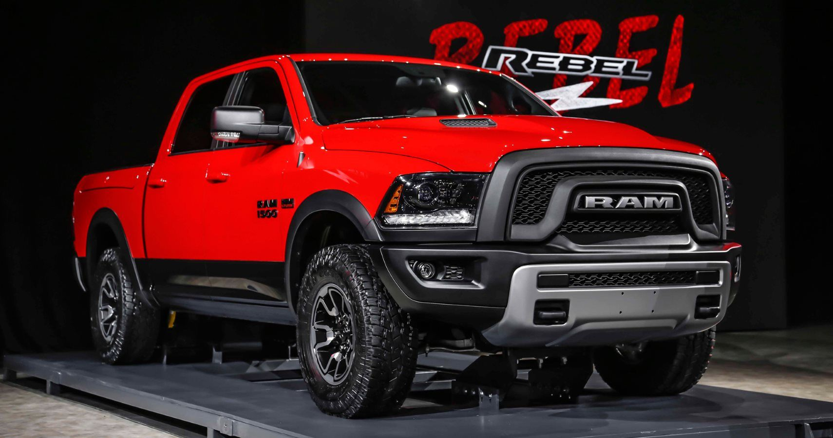 Ram Receives Supercharged Hellcat V Engine Hotcars