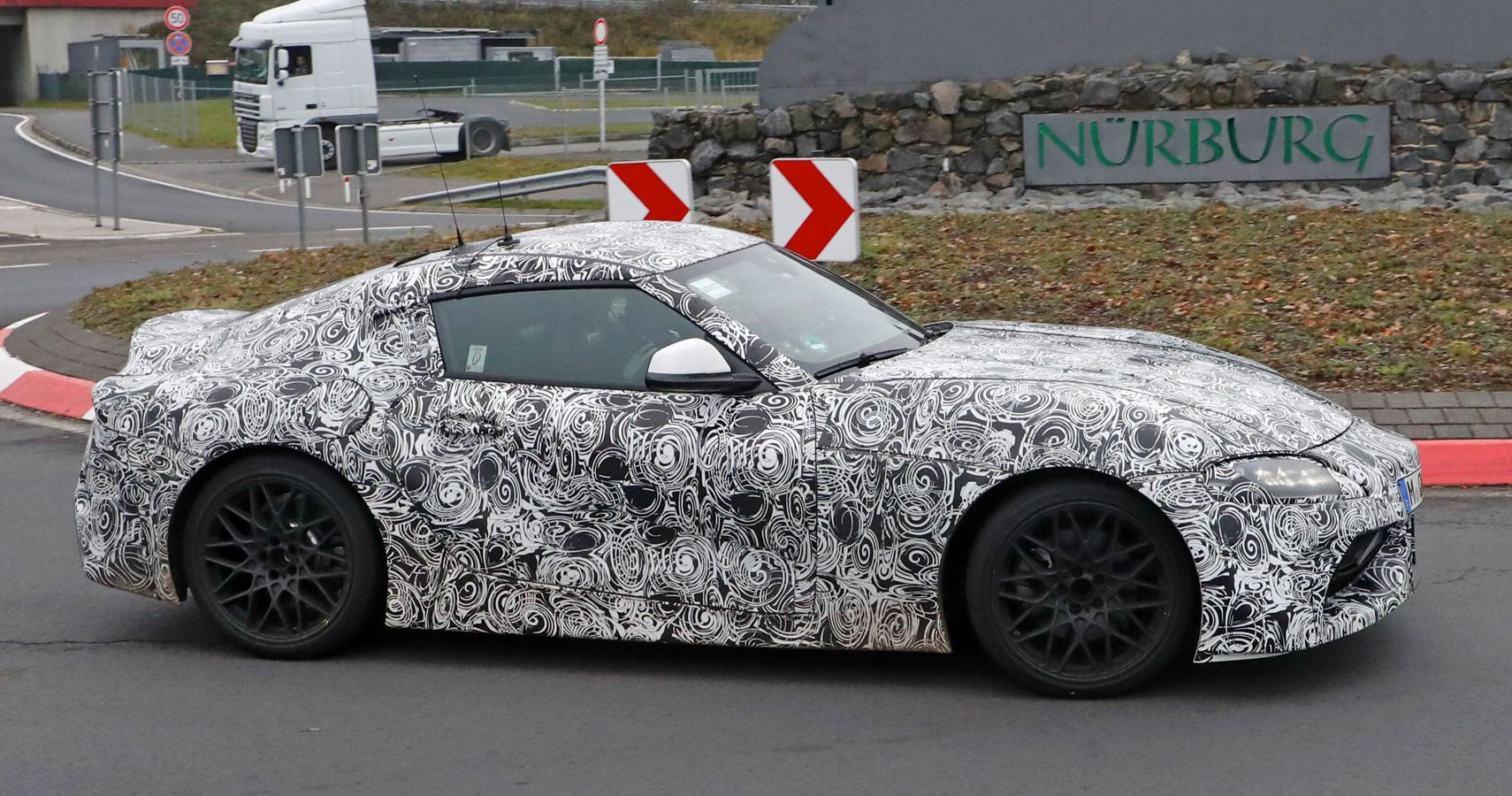 Toyota Supra's Nürburgring Test Ends With An Accident | HotCars