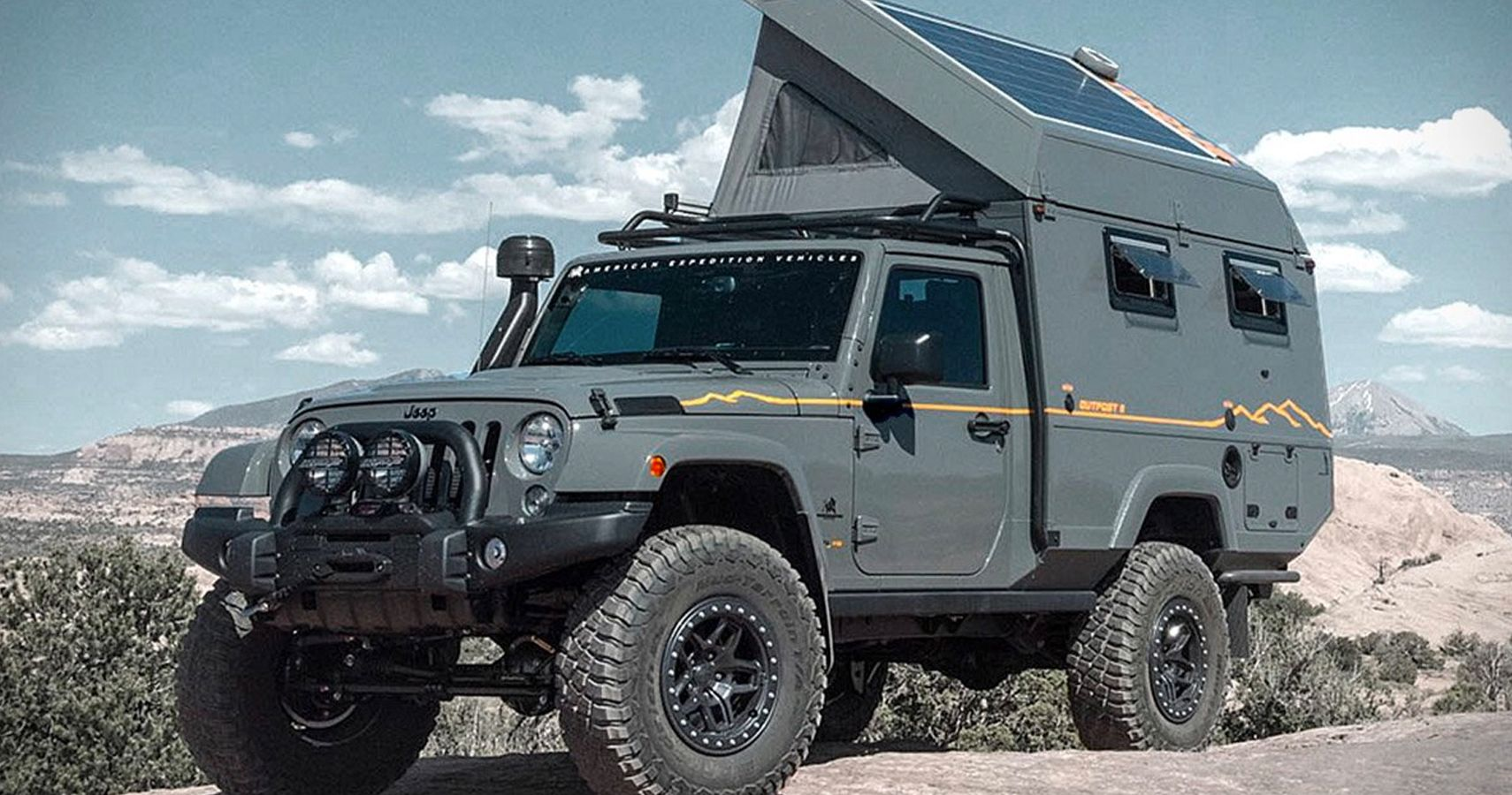 Check Out Aev U0026 39 S Jeep Wrangler Outpost Ii  The Ultimate Rv