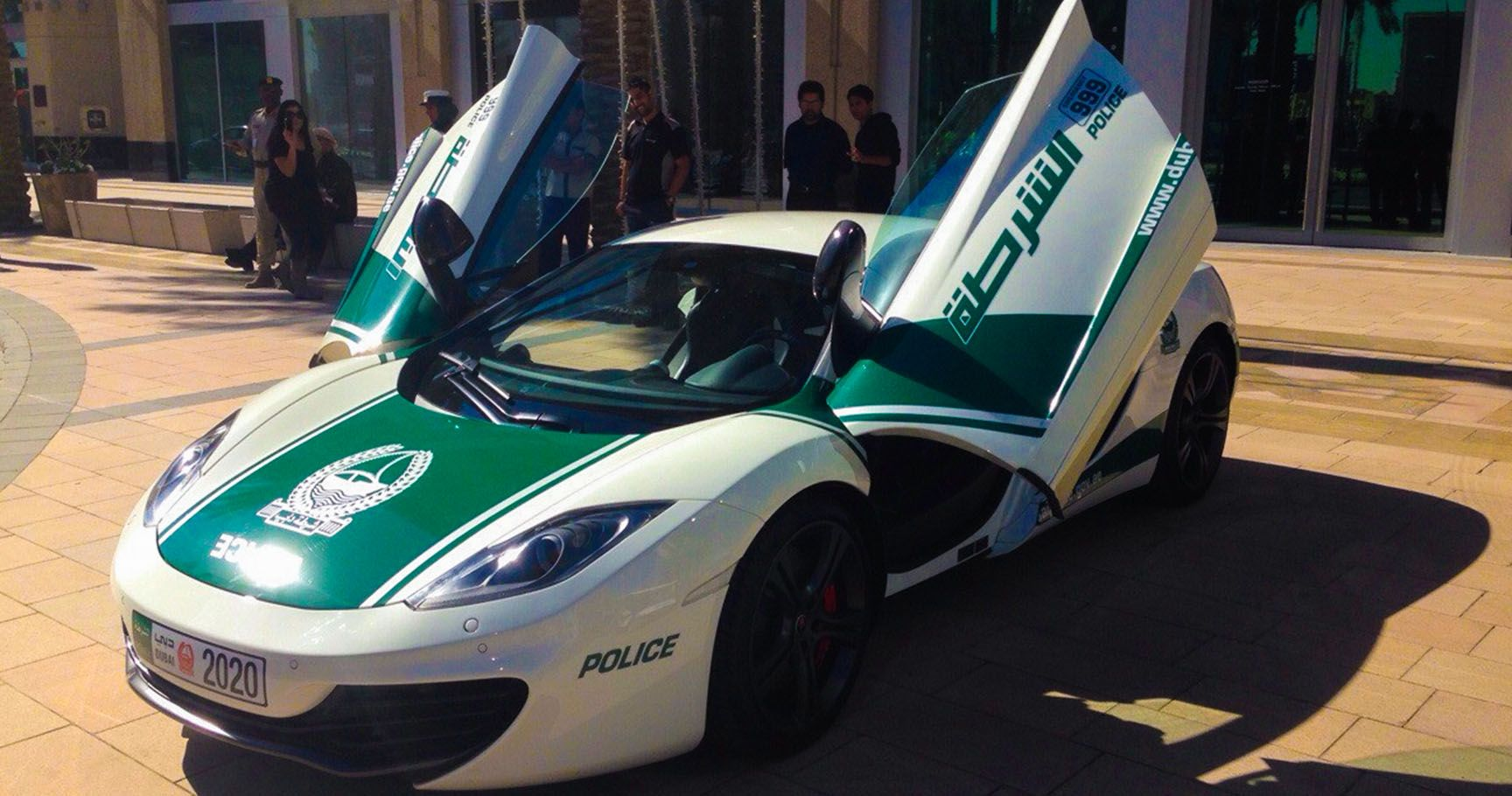 10 Supercars Owned By The Dubai Police Hotcars