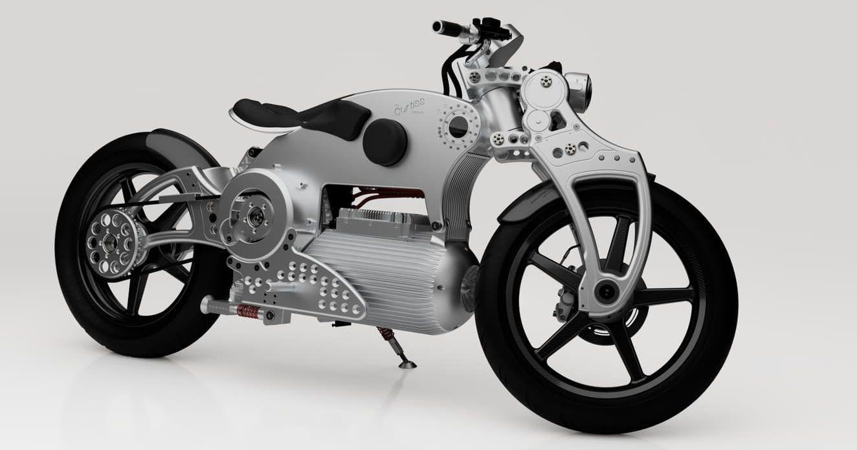 Curtiss Motorcycle's Hades 1 Is A Steam Punk Massaged EV Superbike