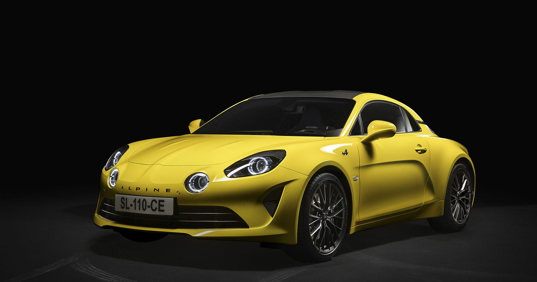 2020 Alpine A110 Color Edition Sports Exclusive Yellow Finish