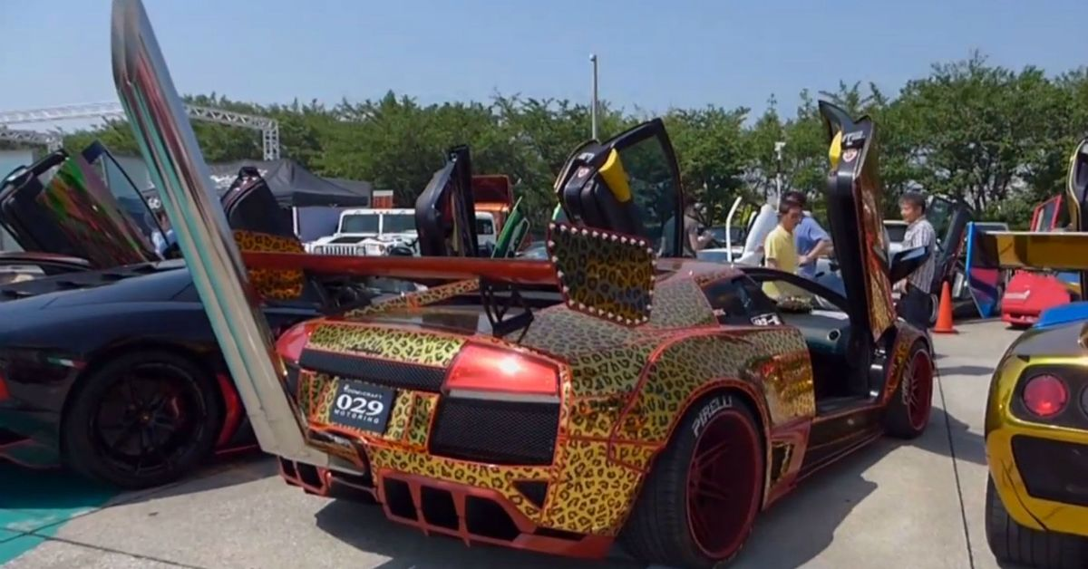 https www hotcars com 17 ridiculous photos of small cars with giant exhaust tips