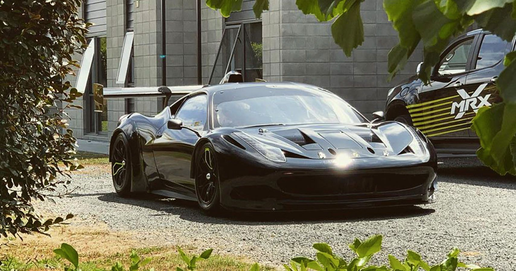 Swapped Ferrari 458 Gt3 Gets Monster Chevy Indycar V8 Hotcars