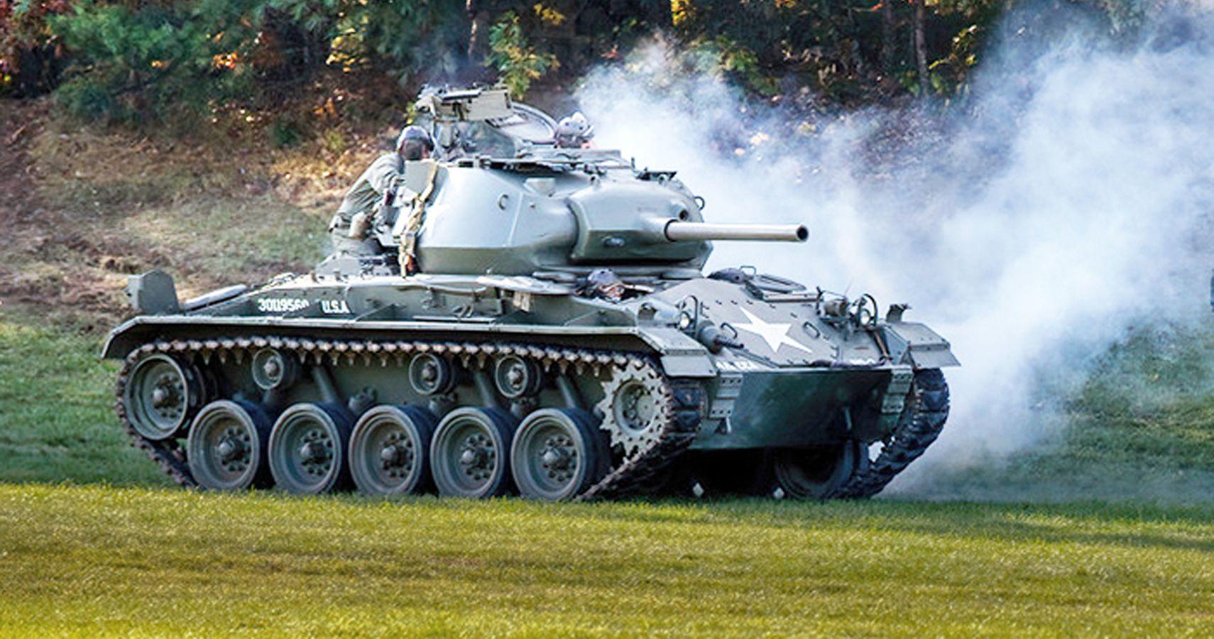 Massachusetts Museum Offers WWII Tank Driving Program