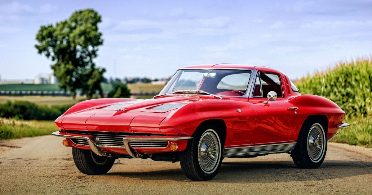 Here's Why The C2 Corvette Is One Of The Greatest Automotive Designs Ever