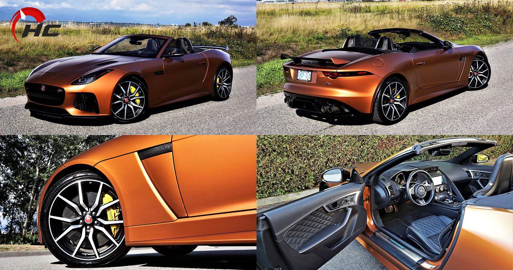 2020 Jaguar F-Type SVR Convertible Review: A Supercar For ...