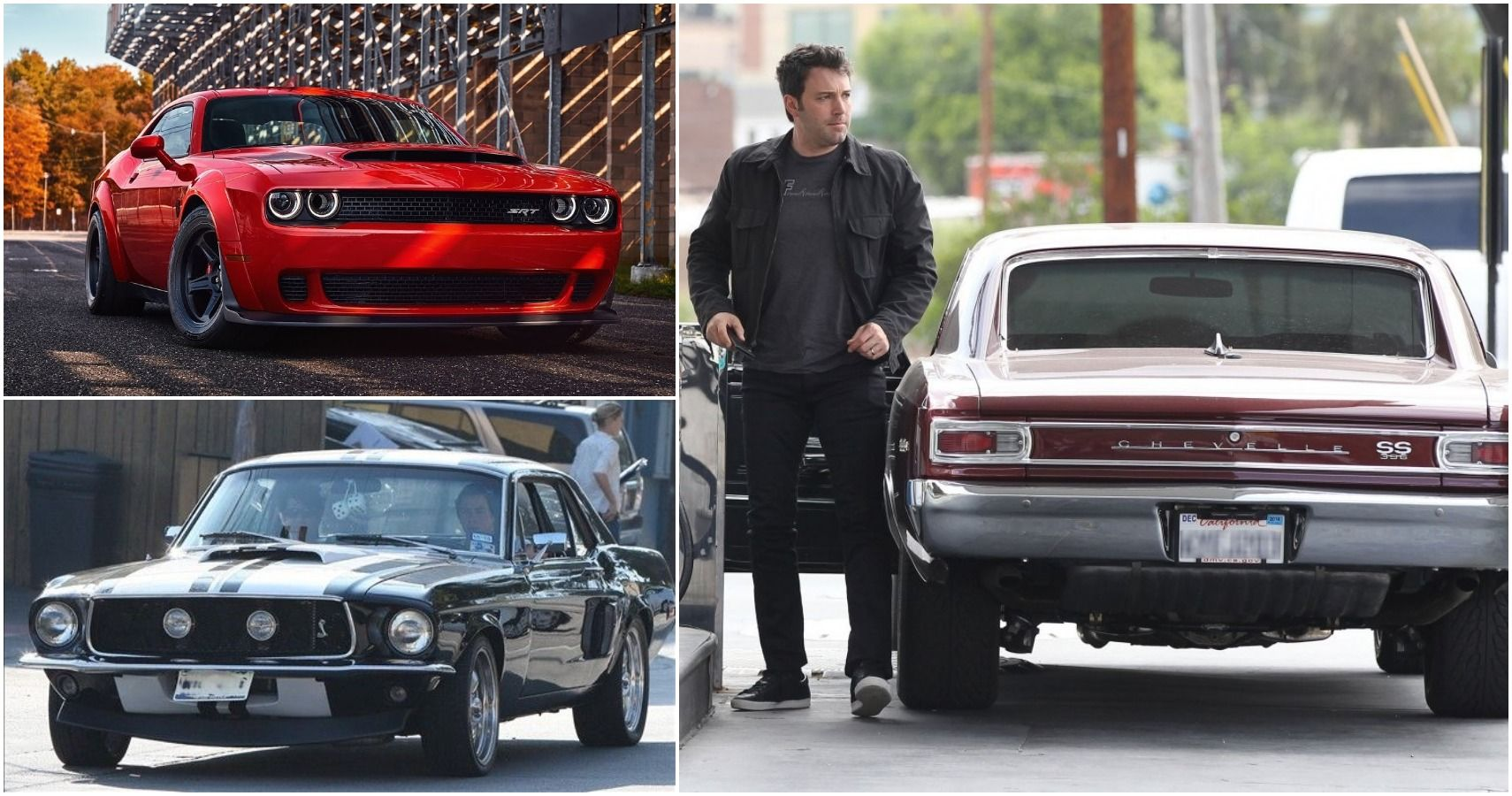 10 Coolest Muscle Cars Driven By Celebs
