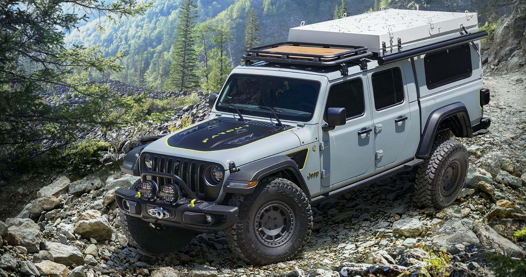 Jeep Gladiator Farout Concept Explores Overlanding Market