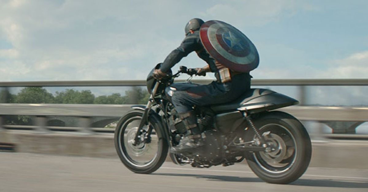 Here Are The Harley-Davidson Motorcycles Driven By Captain America