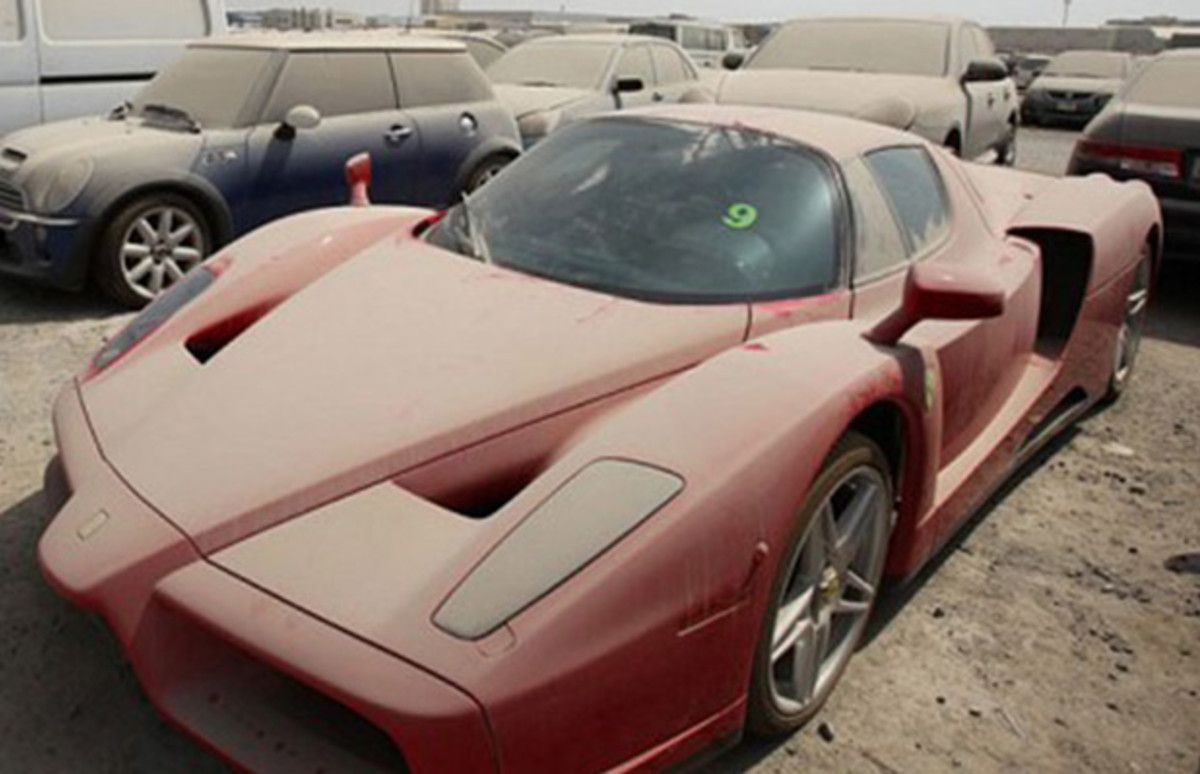 These Gorgeous European Supercars Have Been Abandoned By Their Owners