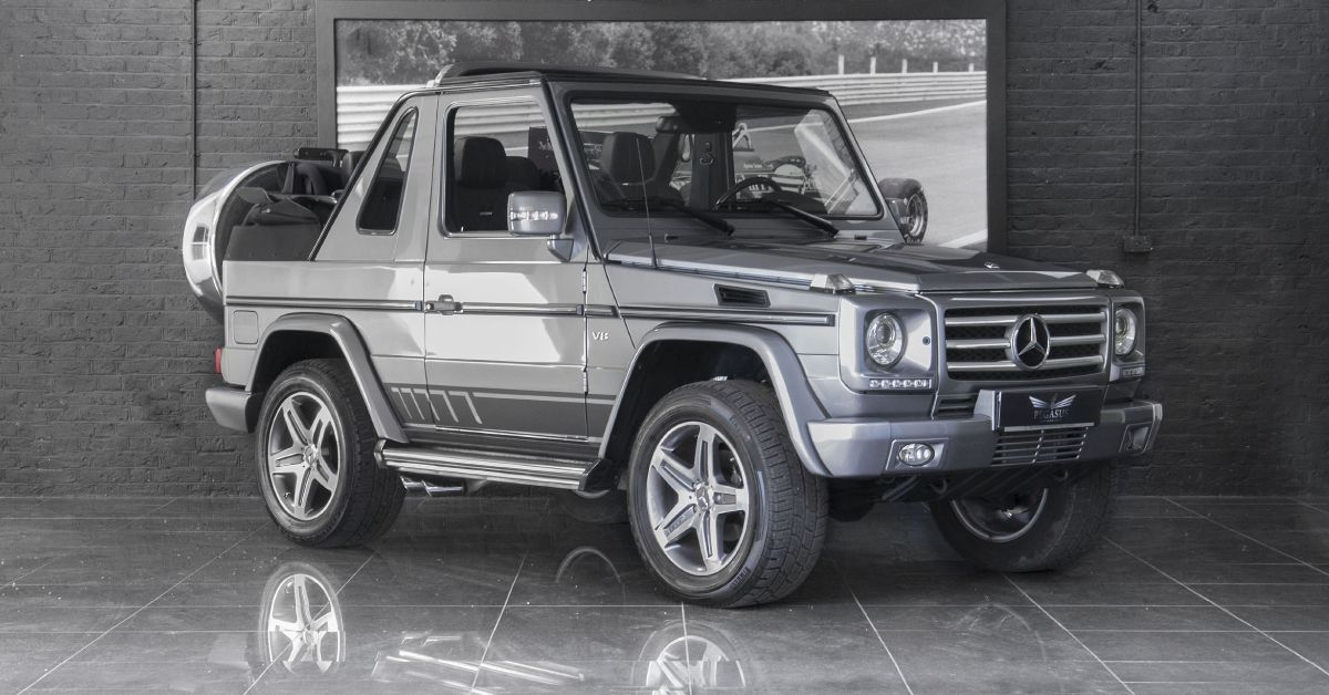 Was The Mercedes Benz G500 Cabriolet Worth It Hotcars