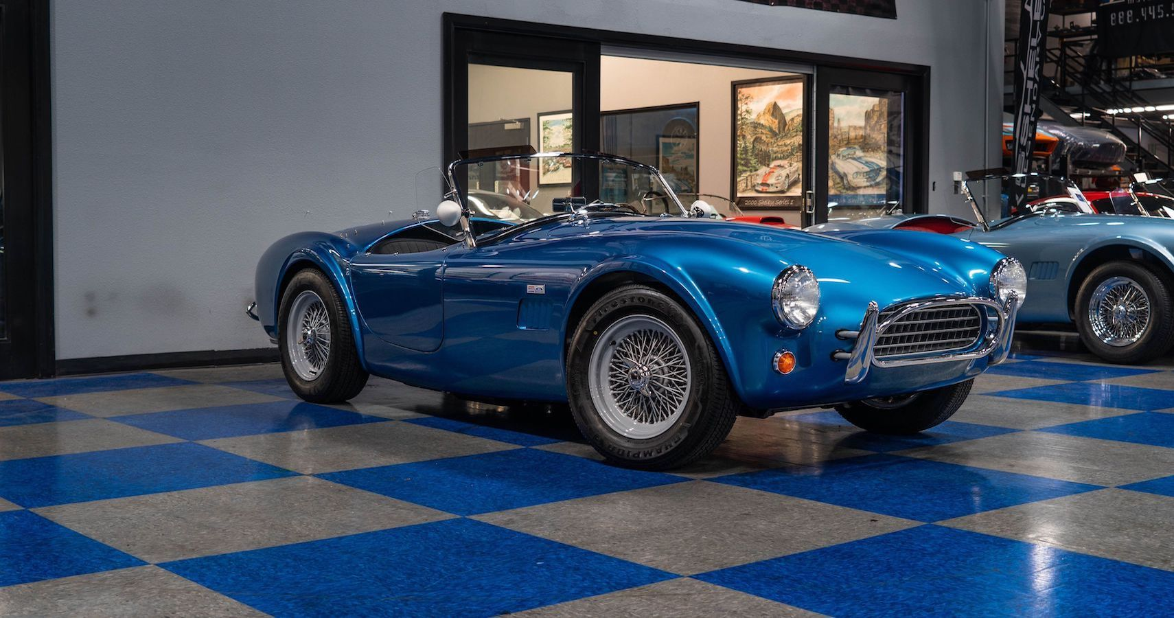 Petersen Museum Auctioning Off Superformance MKII, A Shelby Cobra 289 Continuation