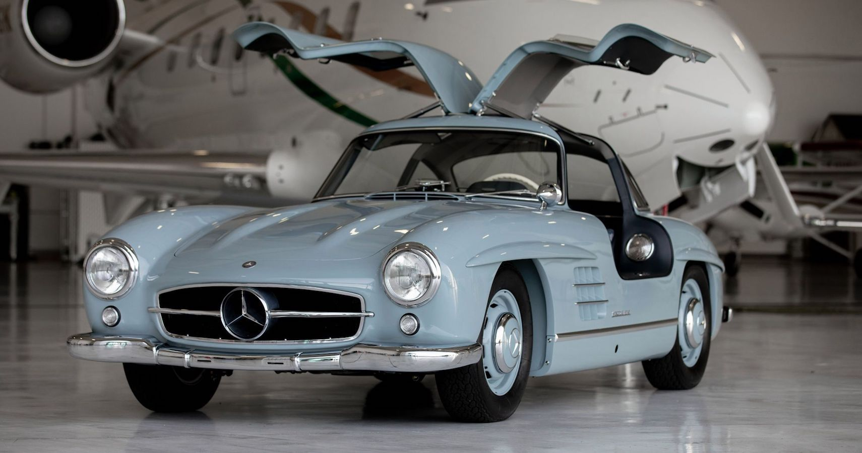 Bring A Trailer: Uber-Rare 1957 Mercedes Benz 300SL Gullwing Sells For $1,152,000