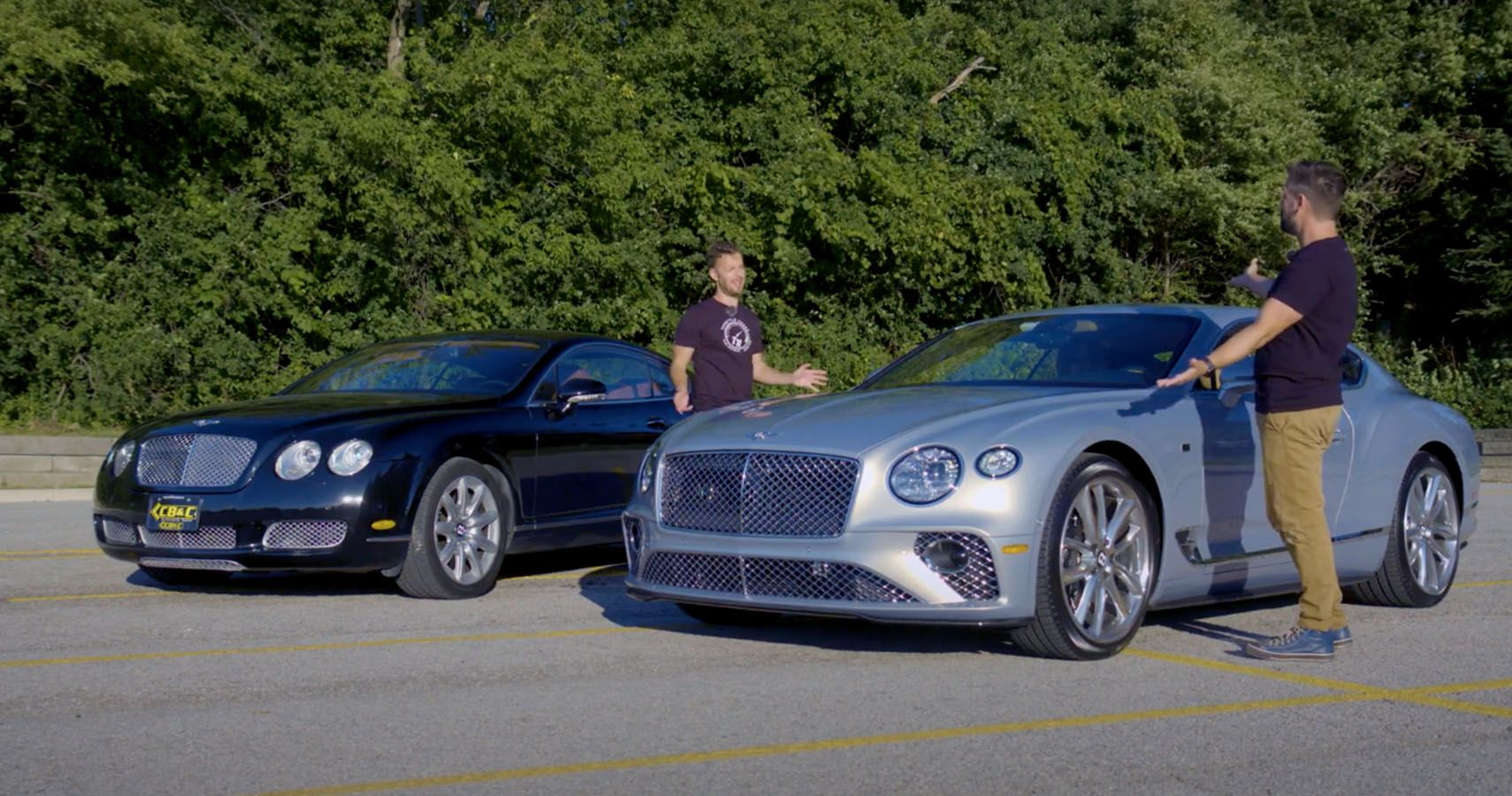 Throttle House Compares The New Bentley Continental GT Vs An Old Beater