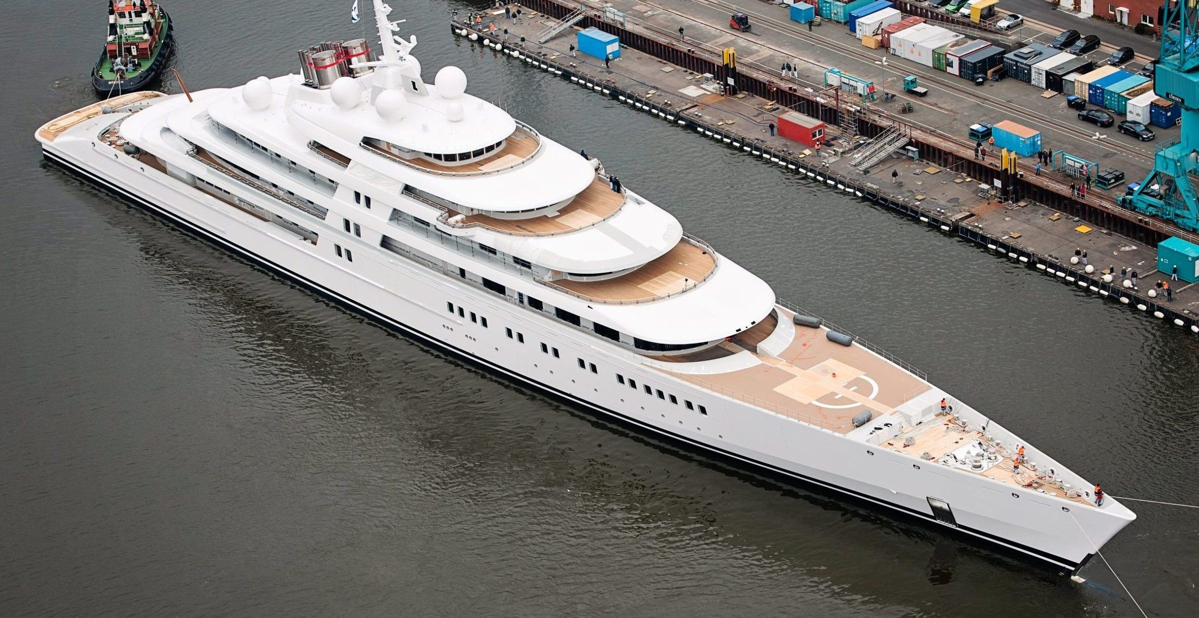 Here's How Much It Cost To Build The World's Most Expensive Luxury Yacht Azzam