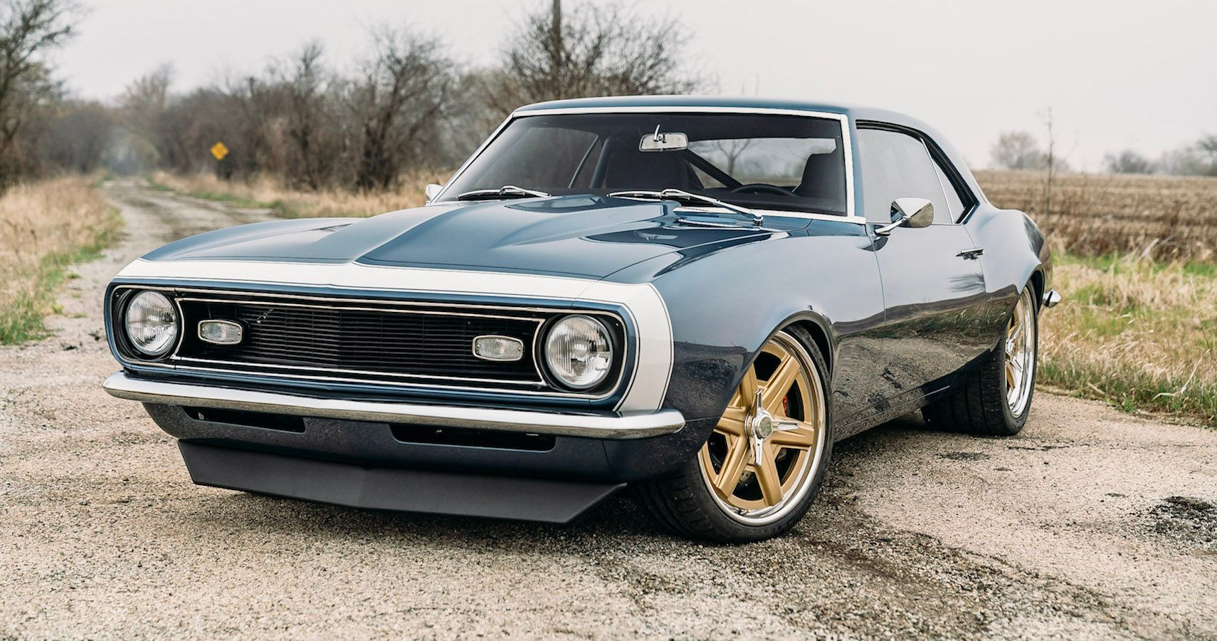 This Supercharged '68 Camaro Restomod Is A Thing Of Beauty