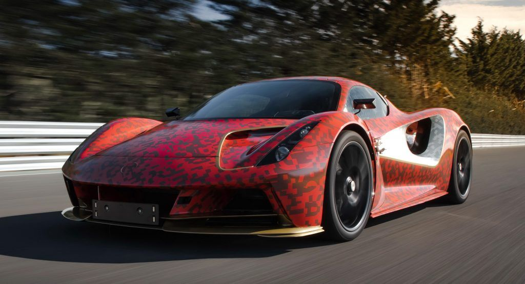 Lotus Tests Evija Development Prototype At Hethel | HotCars