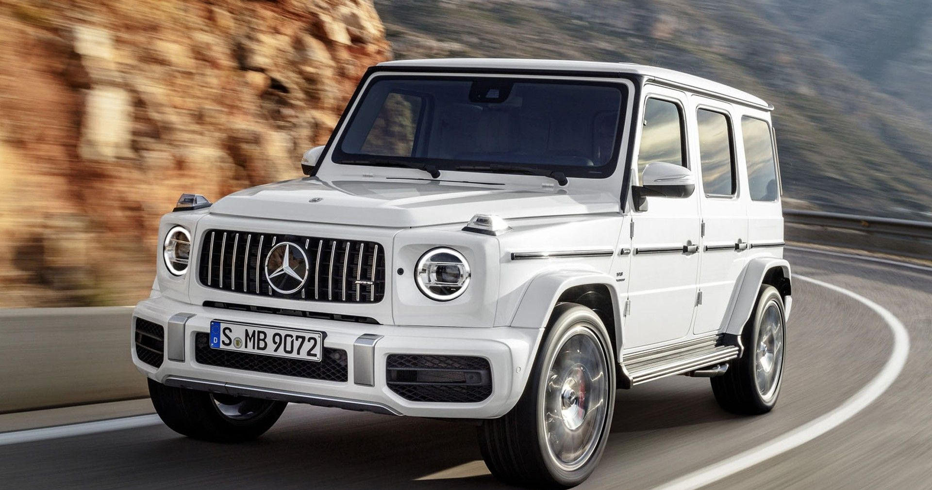 Detailed Look At The Mercedes Benz G Class From Post Malone's Song White Iverson