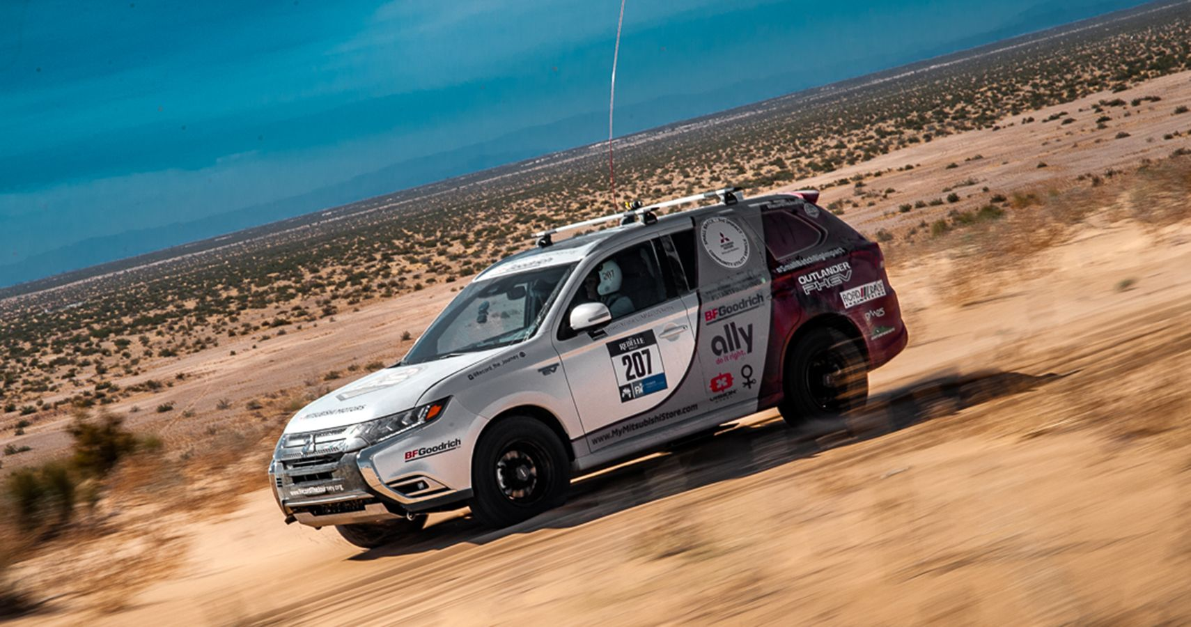 Mitsubishi Outlander Is First Plug-in Hybrid EV To Finish Rebelle Rally