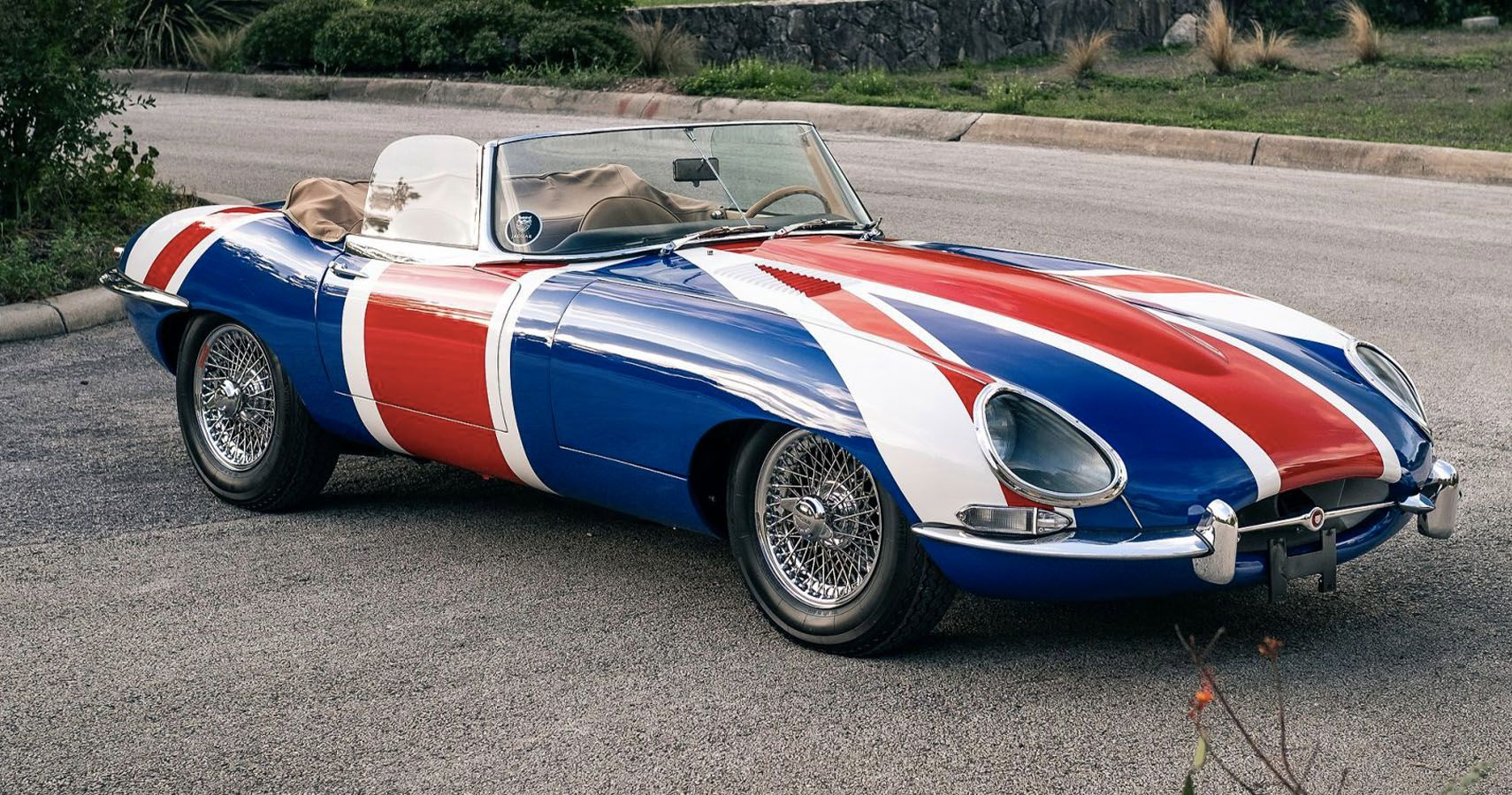 Groovy Baby! Austin Powers Inspired Jaguar XKE Pops Up For Sale