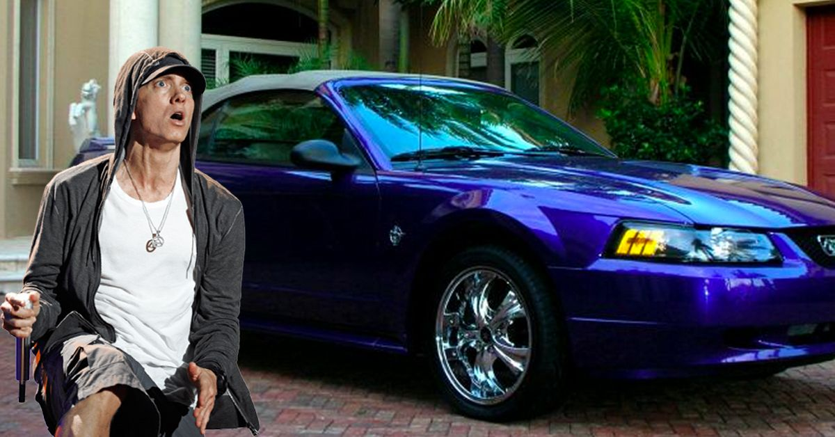 Here's What Happened To Eminem's 1999 Mustang Convertible From Purple Pills