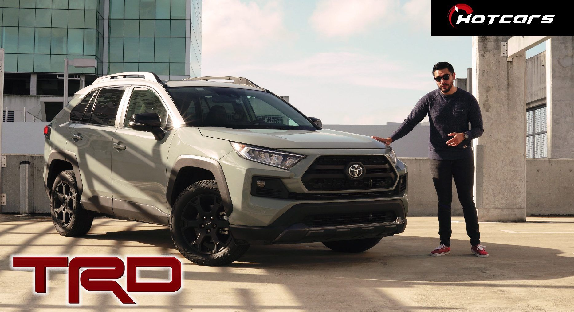 2020 Rav4 Trd Off Road Review Good Looks With A Steep Price