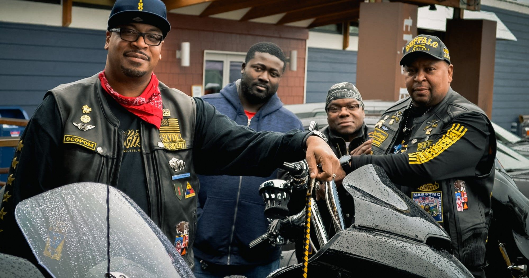 Here's What The Buffalo Soldiers Motorcycle Club Rides