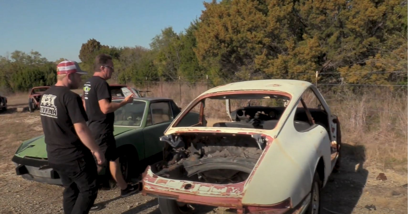 Watch Dennis Collins Rescue Some Abandoned Porsches From The Texas Sun