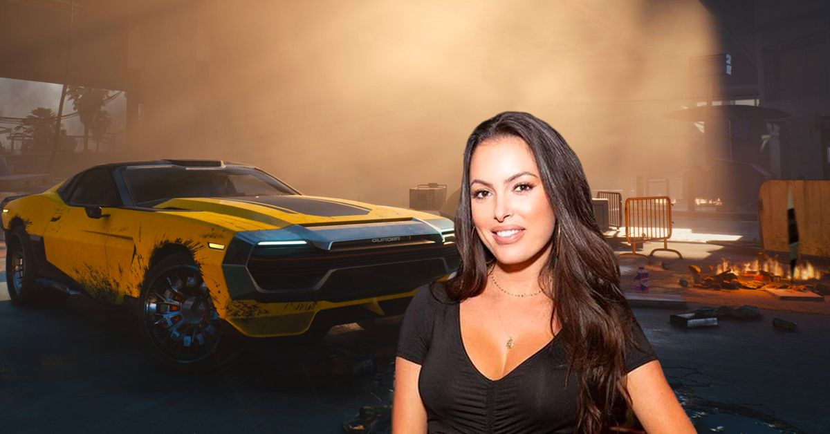 Constance Nunes Partners With Rockstar Energy To Deliver A Custom Ford Mustang