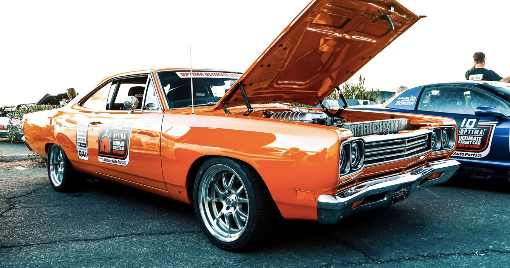 This Hellcat Powered 1969 Plymouth Road Runner Is All Mopar Everything