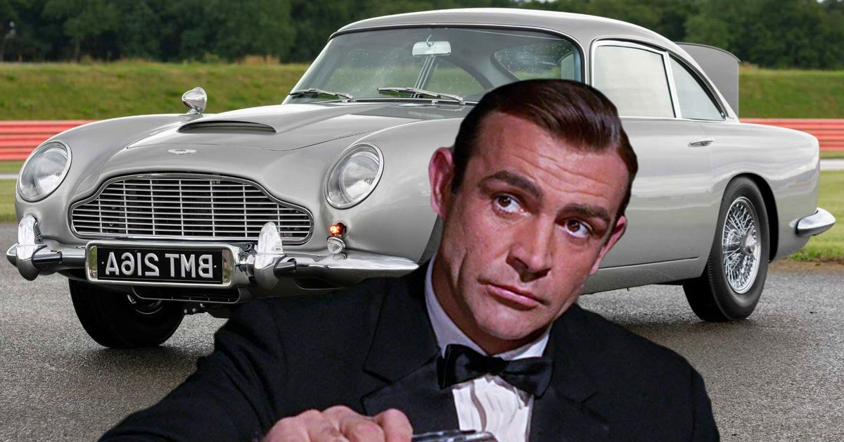 These Are The Best Cars in James Bond's Garage