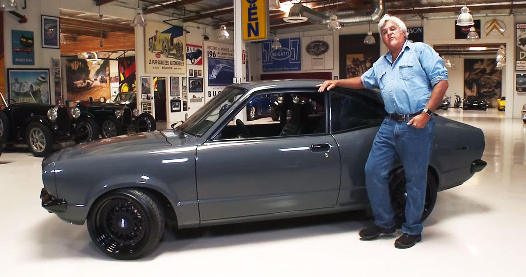This 1973 Mazda RX3 Restomod From Jay Leno's Garage Is An Absolute Gem