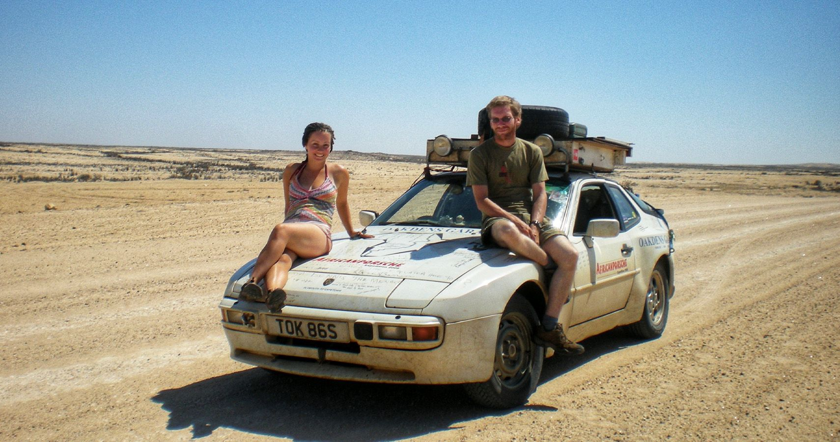 "This Couple Drove Their ""Unreliable"" Porsche 944 Across Africa"