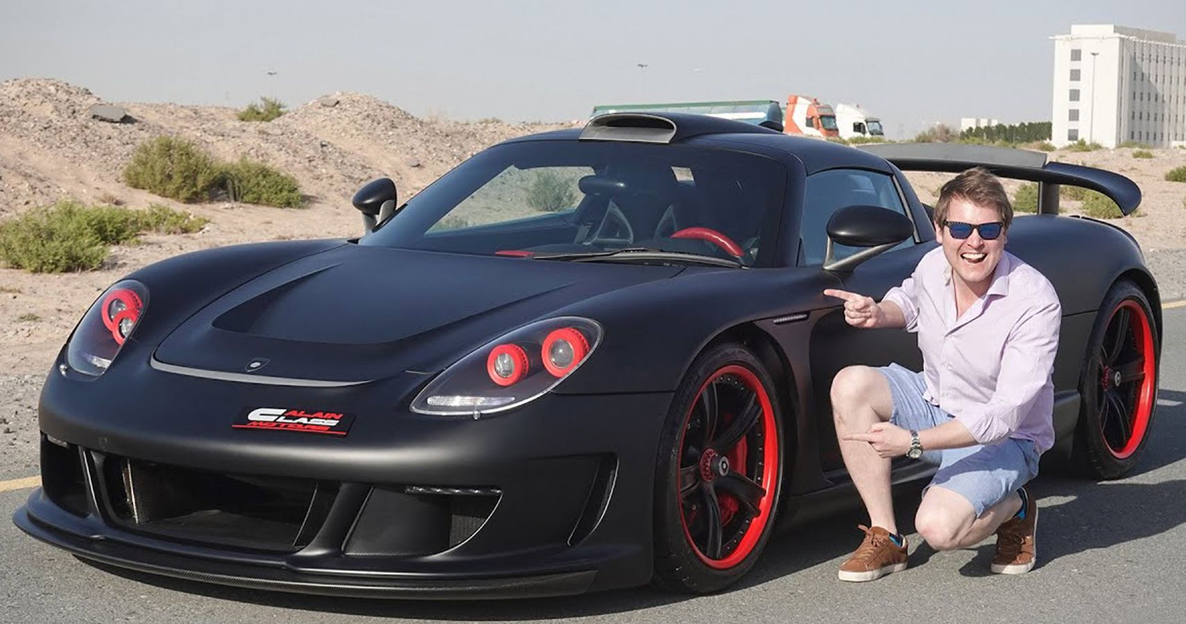 Shmee Drives This Wildly Tuned Gemballa Mirage GT Currently For Sale In Dubai