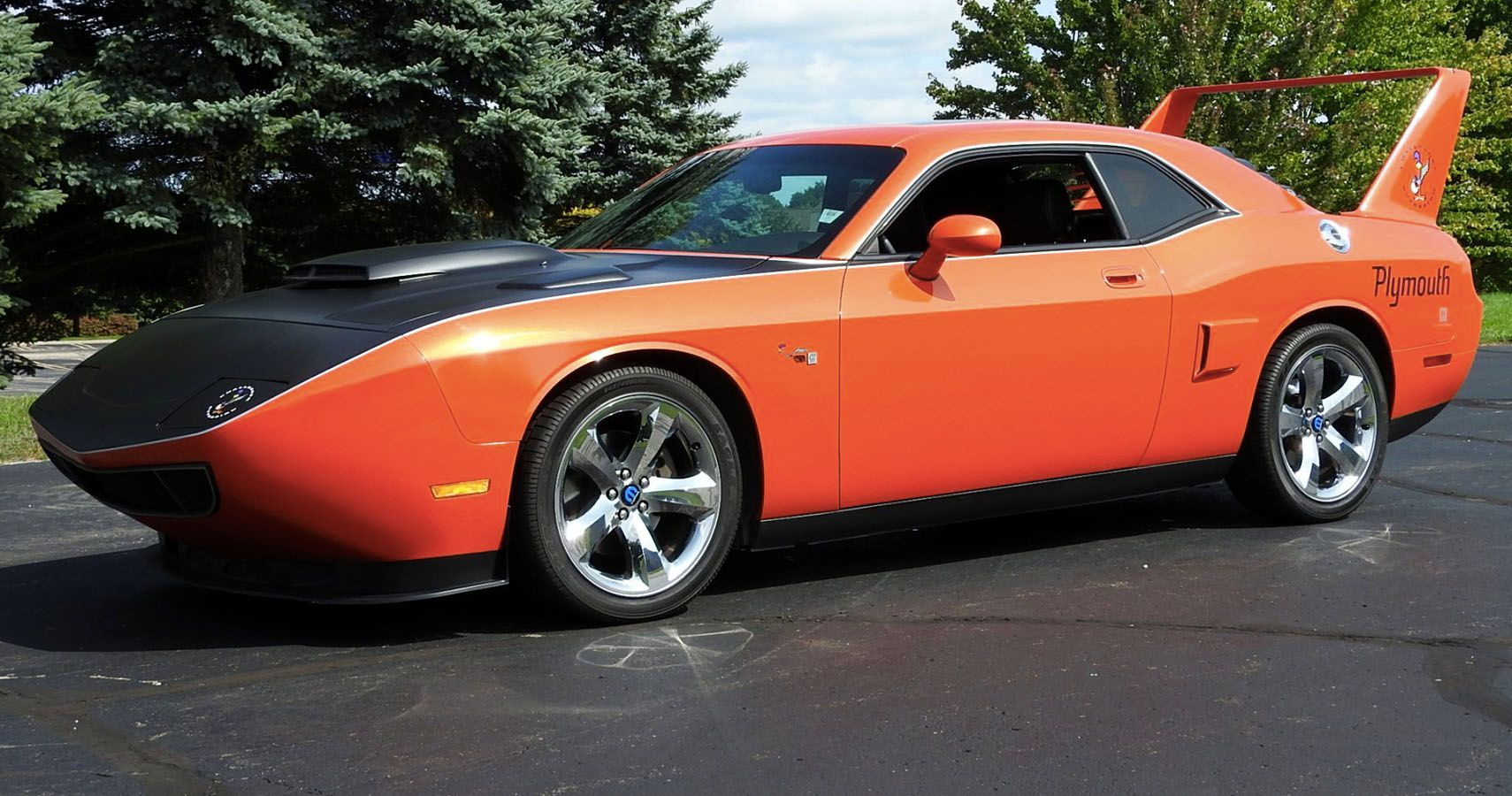 Dodge Challenger-Based Superbird Prototype Pops Up On BaT