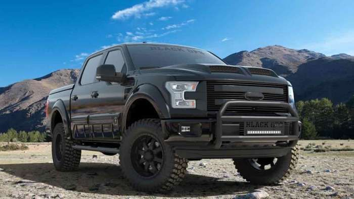 What You Need To Know About The Ford F-150 Black Ops Edition