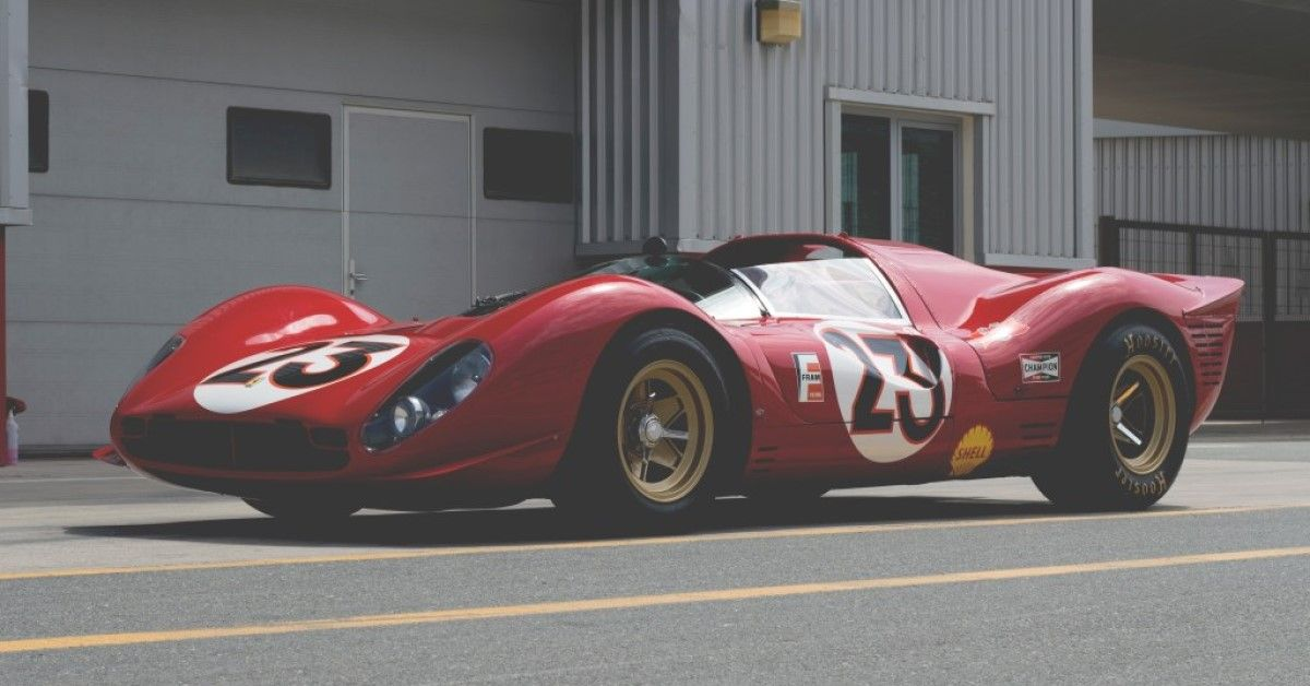 Looking Back At The Ferrari 330 P4