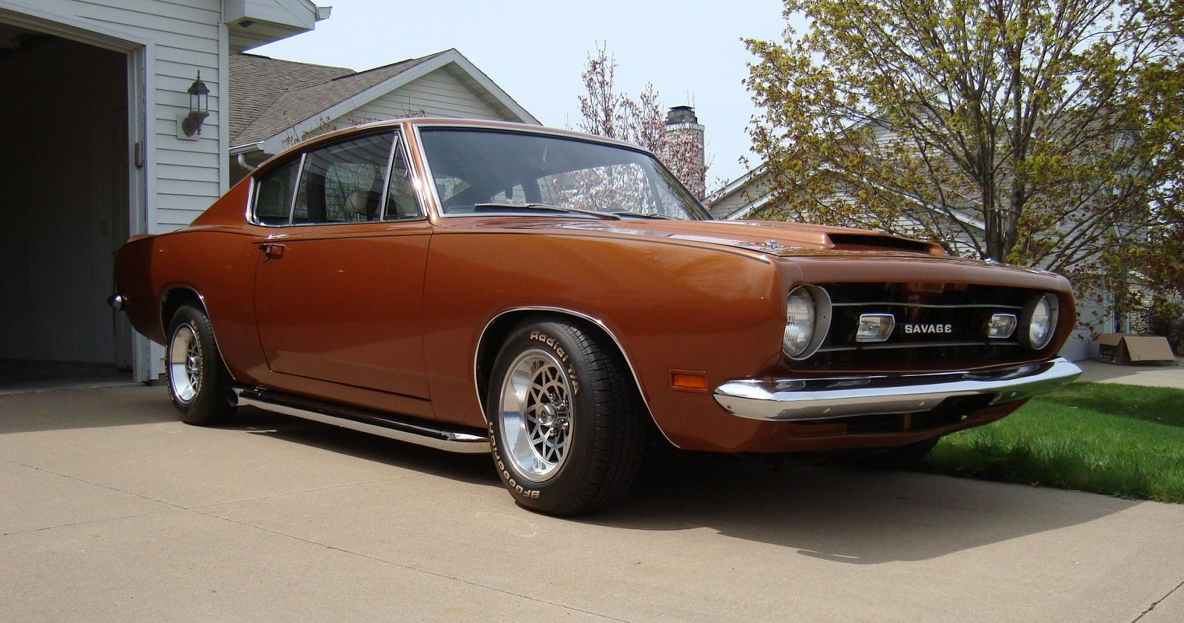 If Carroll Shelby Had Modified A Barracuda It Might Look A Lot Like This Savage GT